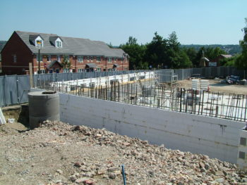 sharrow road school construction