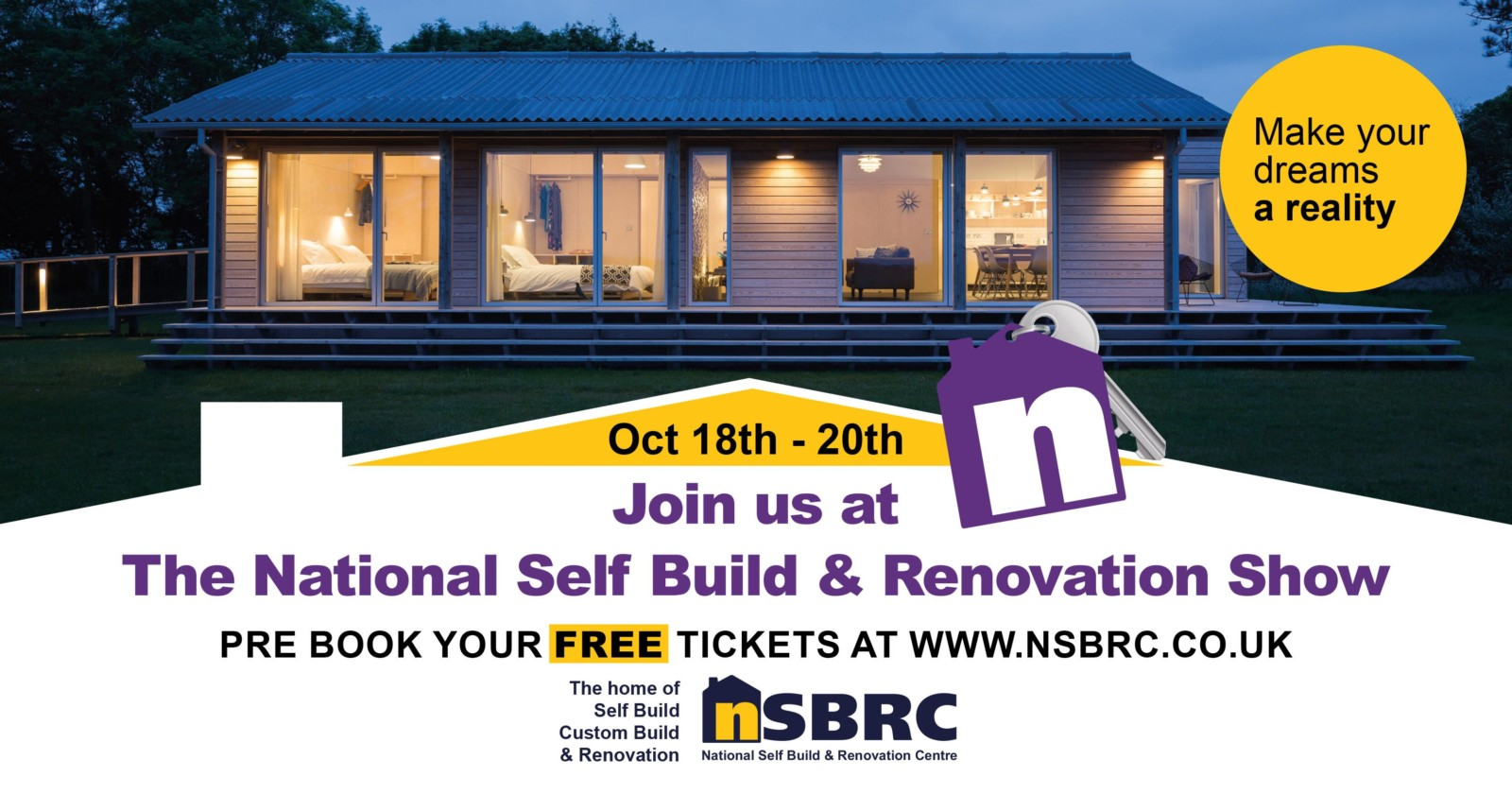 National Self Build & Renovation Show Autumn 2019