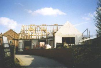 self-built bungalow construction