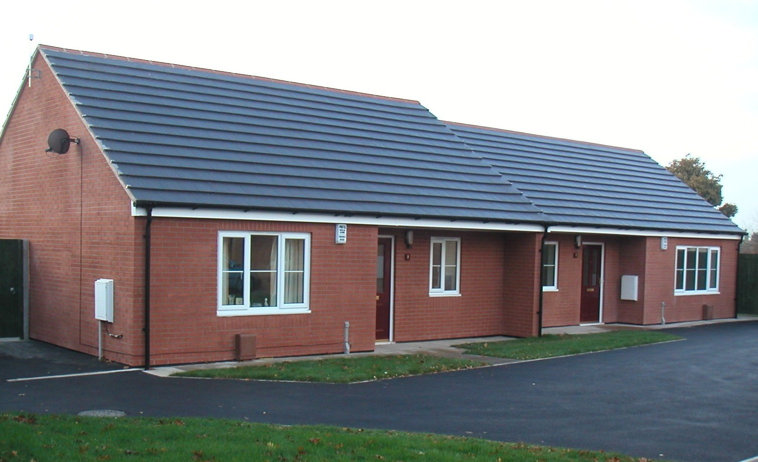 Semi-detached Bungalows, Scunthorpe