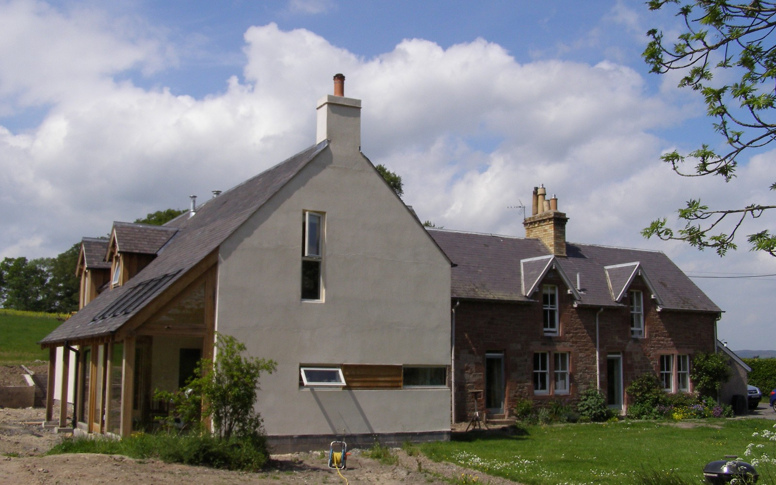 Extension at Maxton in the Scottish Borders
