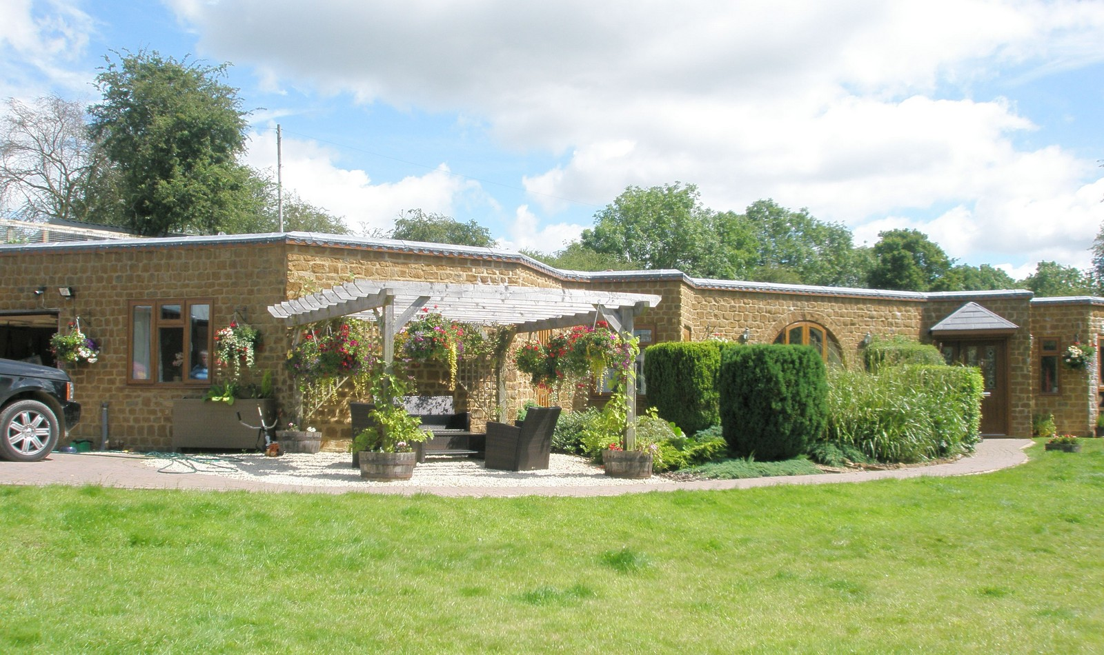 Earth-Sheltered Home near Banbury, Oxon