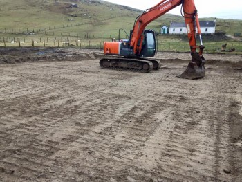 Borve P796 groundworks