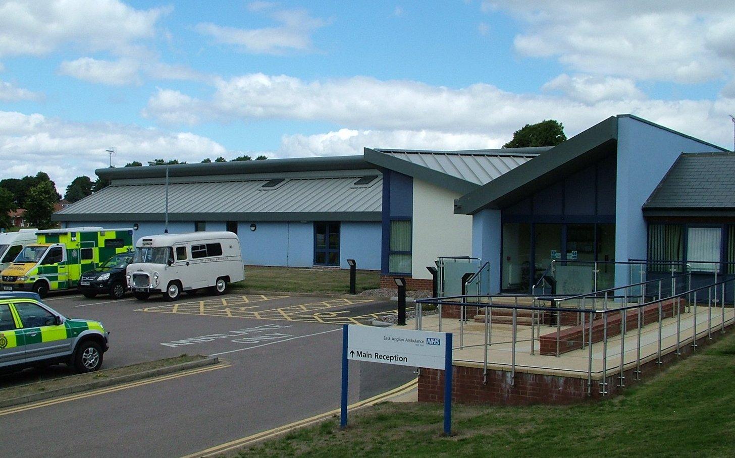 Ambulance Station at Norwich