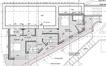 Heol Rhyd basement floor