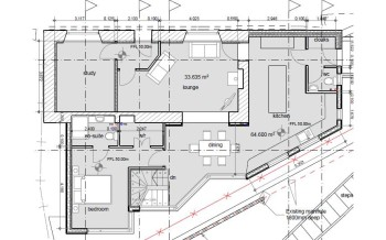 Heol Rhyd ground floor plan