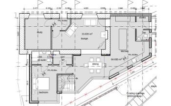 Heol Rhyd ground floor plan