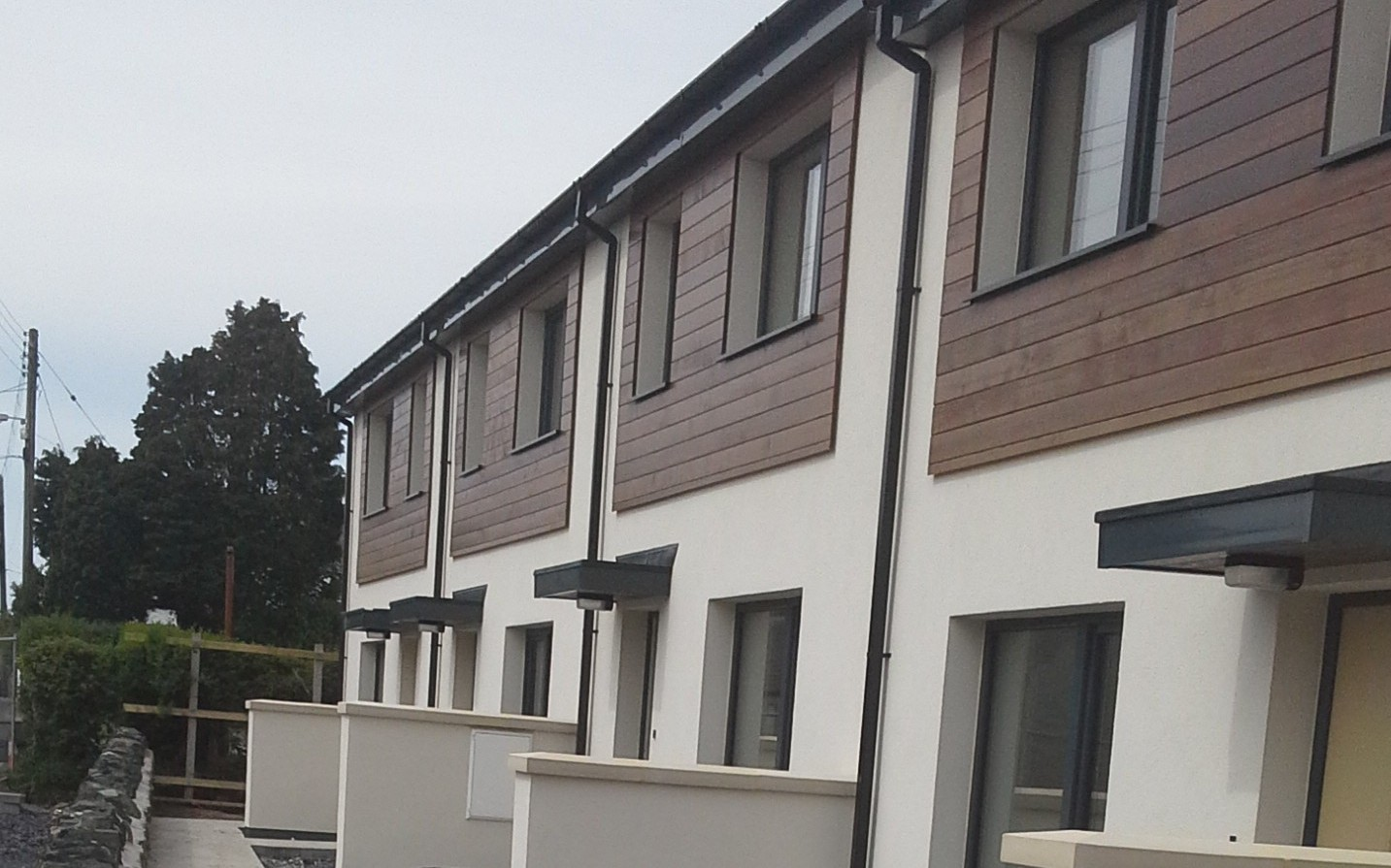 Block of 5 Sustainable Homes – Dwryan, Isle of Anglesey