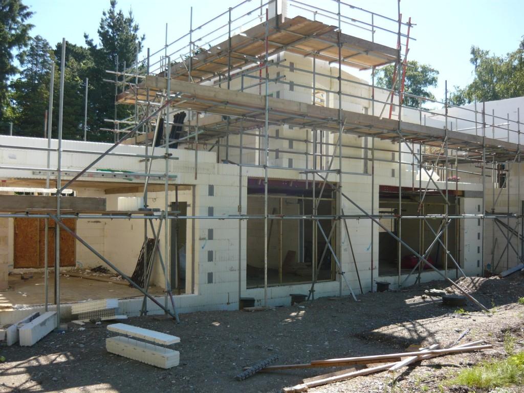 Construction of Woodrising BecoWallform