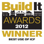 Build It Winner 2012 - Best Use of ICF