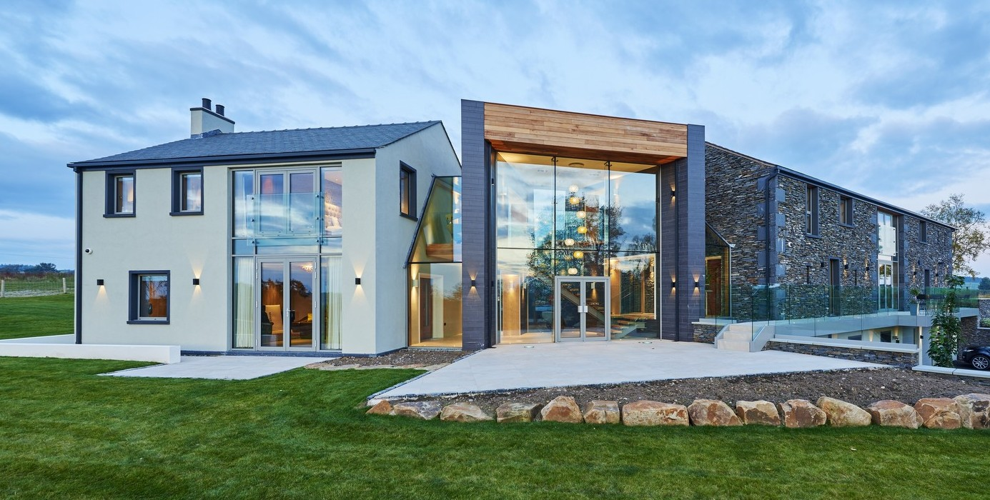 Modern Self-Build Home built using BecoWallform