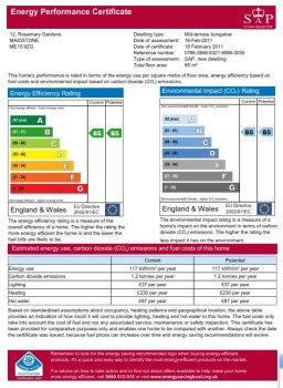 social housing, kent 679 energy perf cert