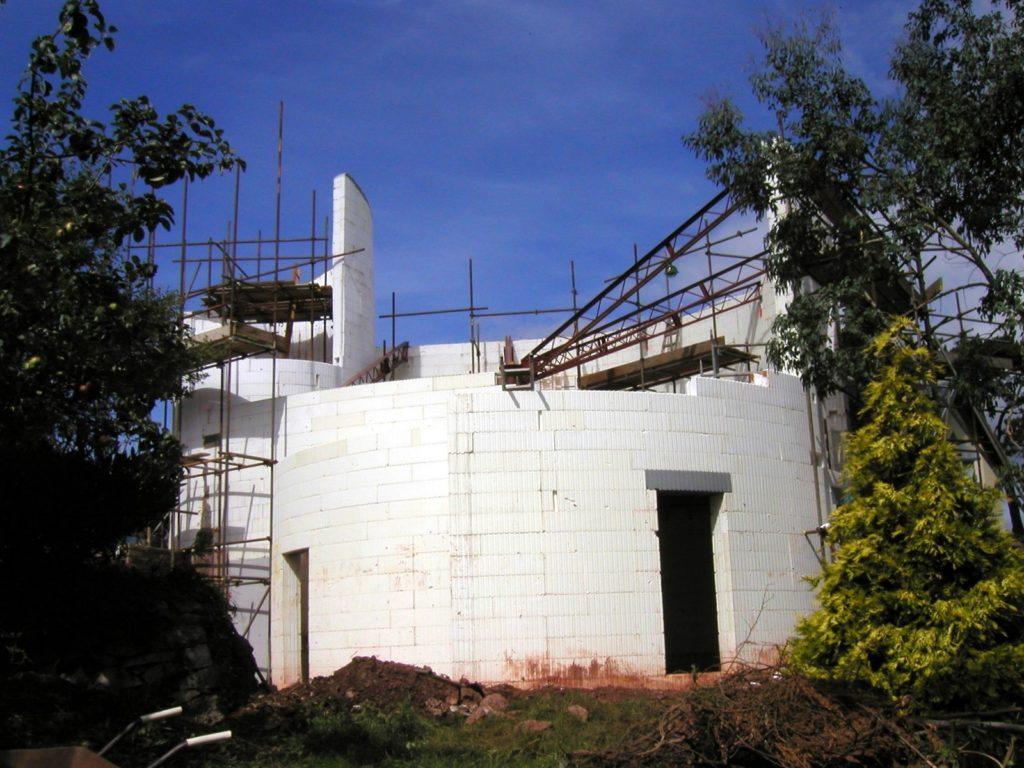 Round House at Shaldon, Devon - BecoWallform