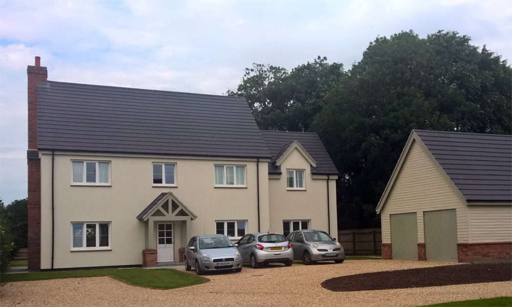 Traditionally-styled Sustainable Home, Lincolnshire