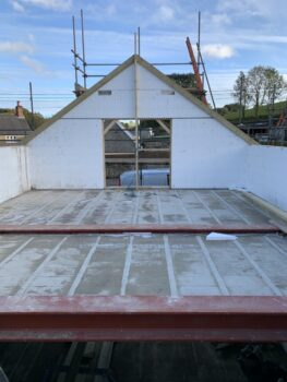 Wallform ICF gable end complete