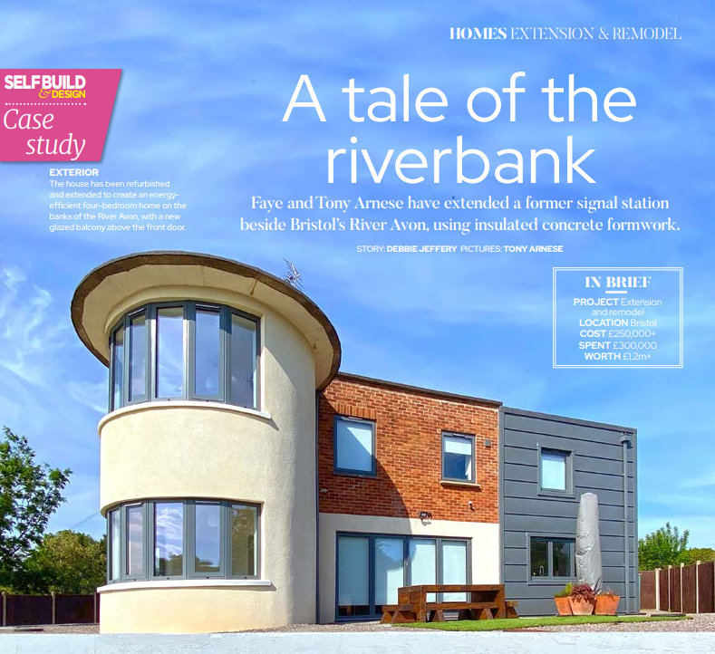 Front cover of the Riverside Home case study
