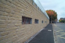 sharrow road school exterior