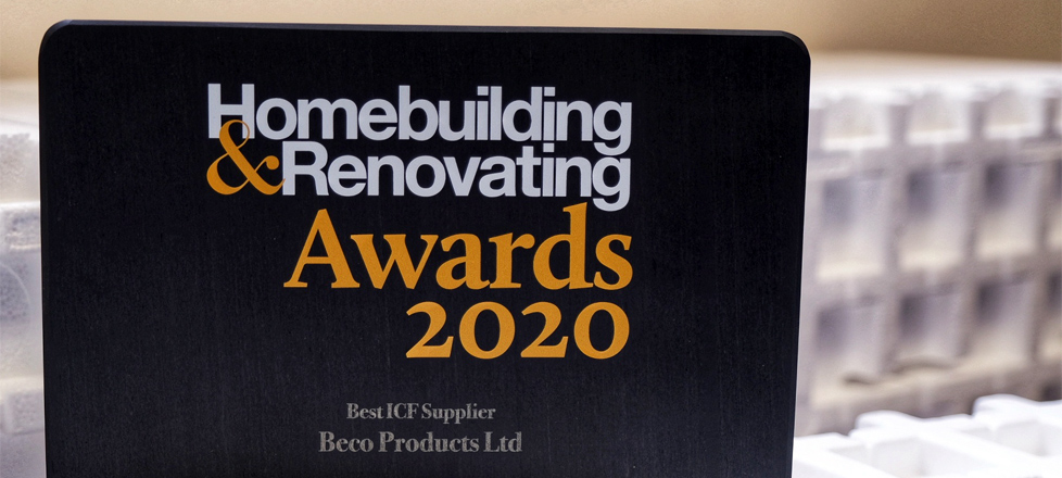 Beco Products Win Best ICF Supplier 2020
