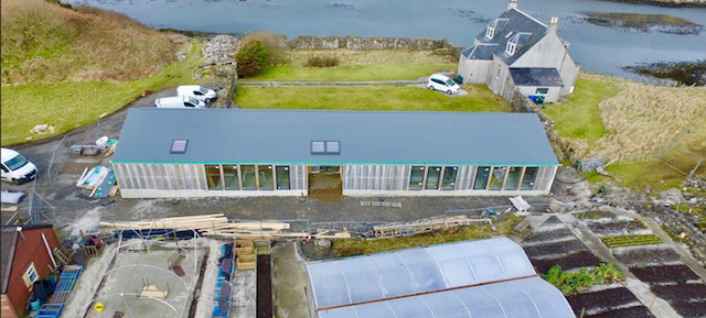 Community Building on the Scottish Isles