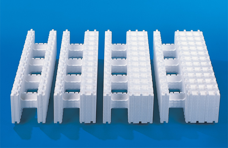 Four Insulated Concrete Formwork (ICF) systems
