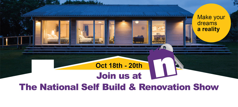 Oct 18th - 20th National Self Build Show poster