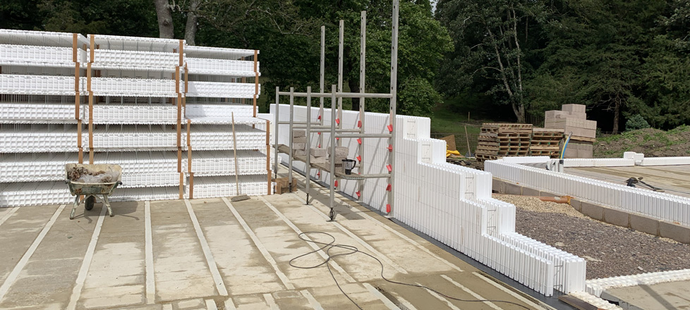 Feature Self Build – Precast Concrete Floor