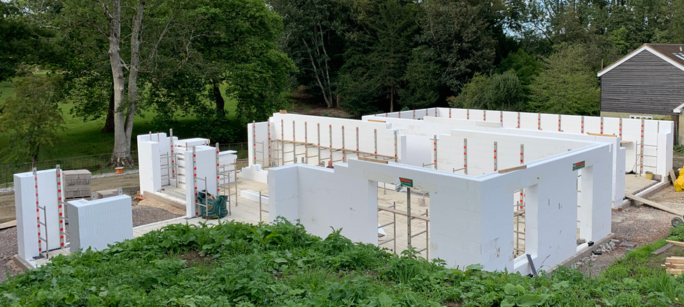 Feature Self Build – Ground Floor Walls