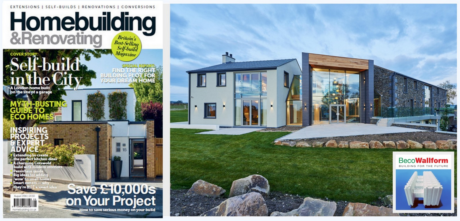 Homebuilding & Renovating Magazine Feature