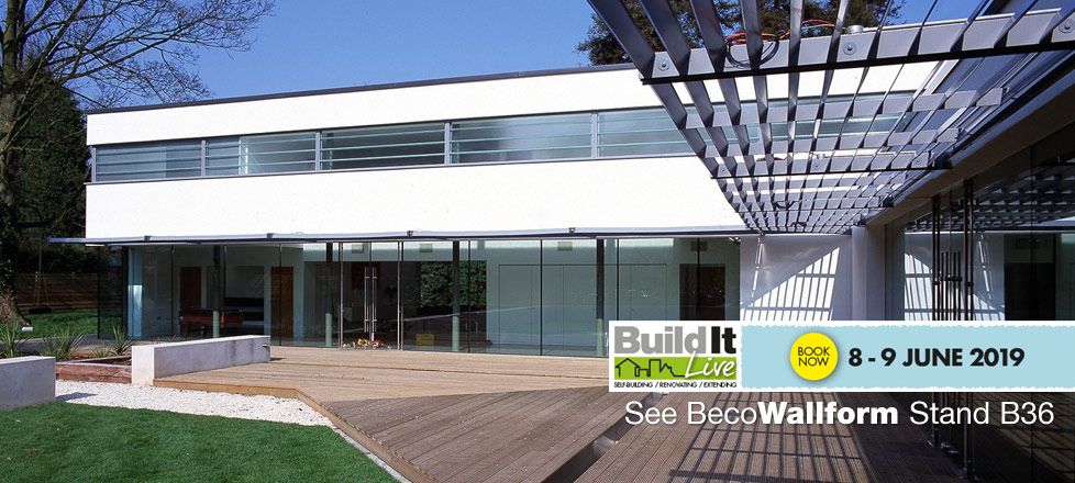 Book your free tickets to Build It Live 2019 in Bicester and see BecoWallform on stand B36