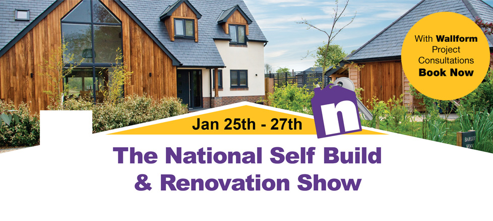 See BecoWallform at the National Self-Build Show in Swindon this January