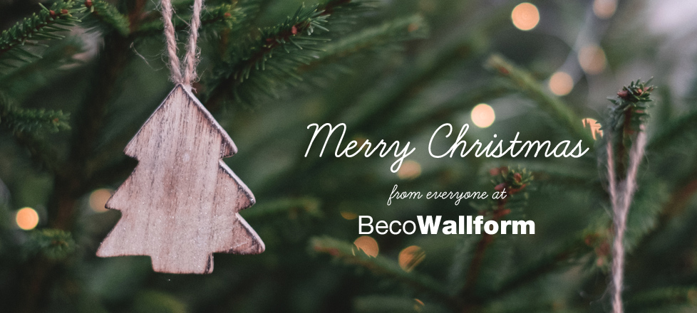 Merry Christmas from everyone at BecoWallform - click for Christmas Shutdown dates